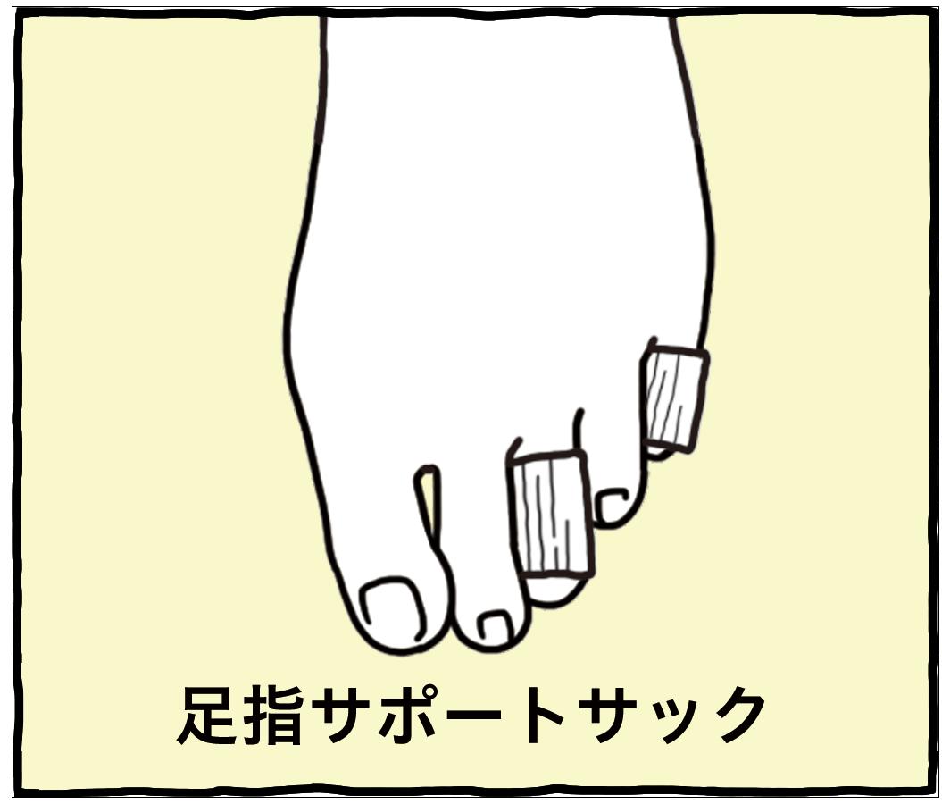 足指サポートサック